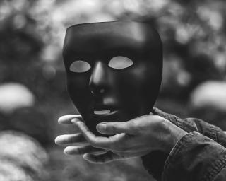 NV Bühne Solo Theater Maske